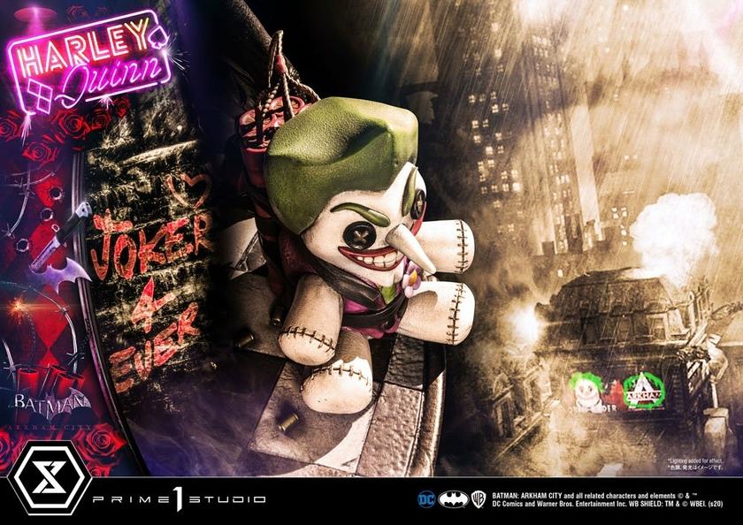 Statue Batman Arkham City Harley Quinn 58cm 1001 FIGURINES (21)