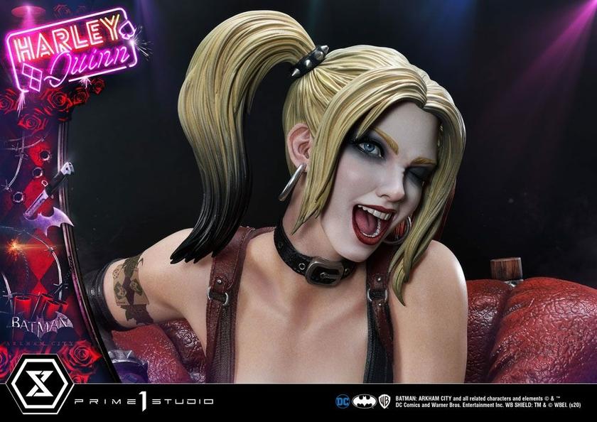 Statue Batman Arkham City Harley Quinn 58cm 1001 FIGURINES (23)