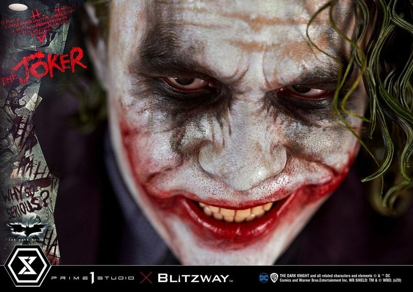 Statue The Dark Knight The Joker Bonus Version 72cm 1001 Figurines (13)