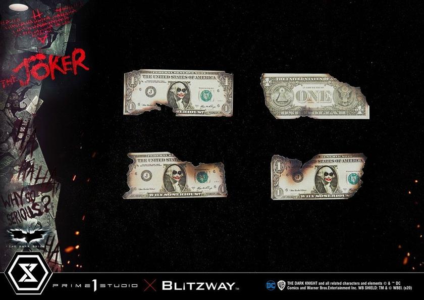 Statue The Dark Knight The Joker Bonus Version 72cm 1001 Figurines (14)