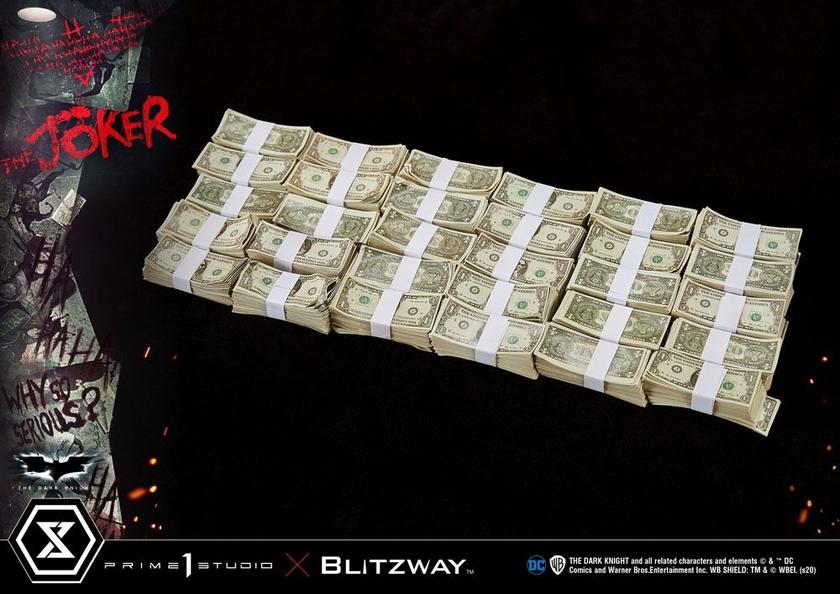 Statue The Dark Knight The Joker Bonus Version 72cm 1001 Figurines (17)