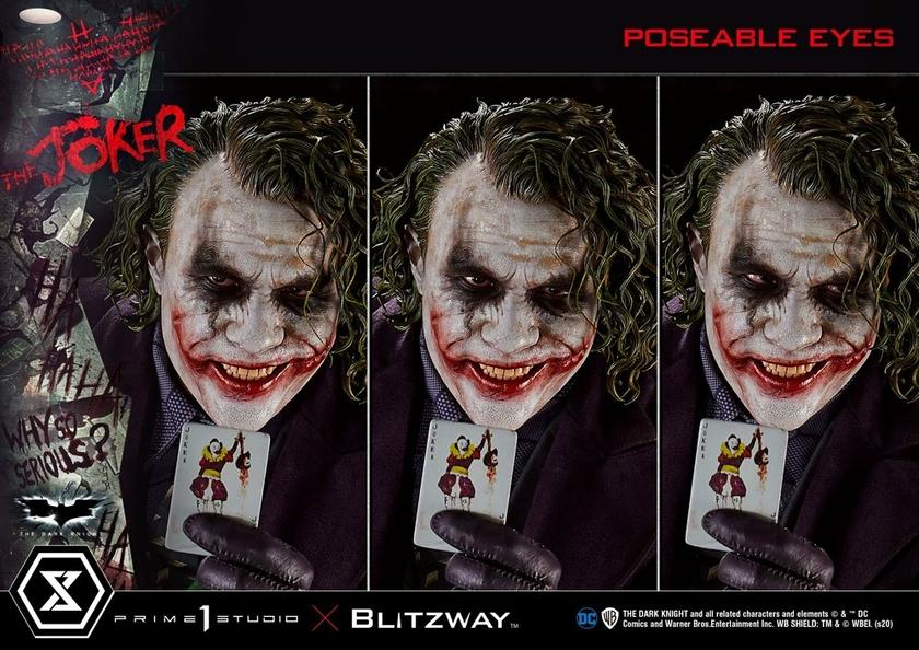 Statue The Dark Knight The Joker Bonus Version 72cm 1001 Figurines (22)