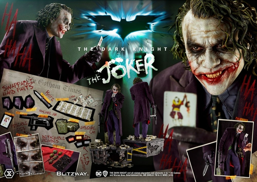 Statue The Dark Knight The Joker Bonus Version 72cm 1001 Figurines (24)