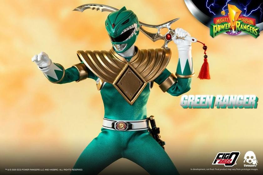 Figurine Mighty Morphin Power Rangers FigZero Green Ranger 30cm 1001 Figurines (4)