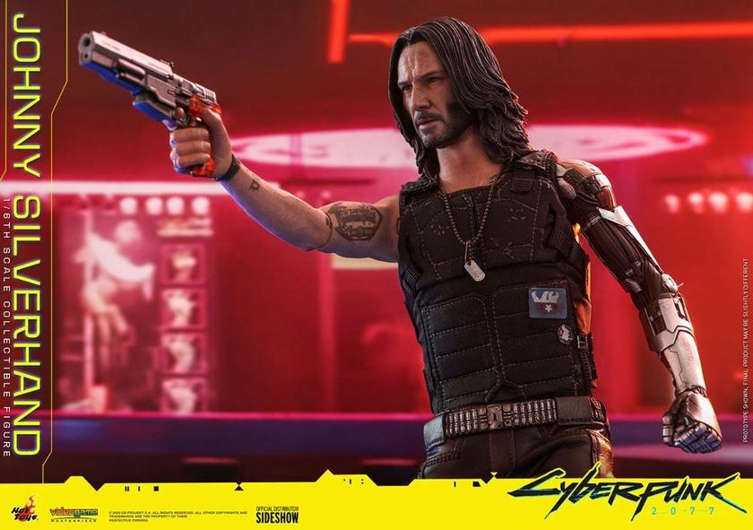 Figurine Cyberpunk 2077 Video Game Masterpiece Johnny Silverhand 31cm 1001 Figurines (21)