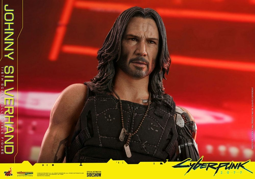 Figurine Cyberpunk 2077 Video Game Masterpiece Johnny Silverhand 31cm 1001 Figurines (22)