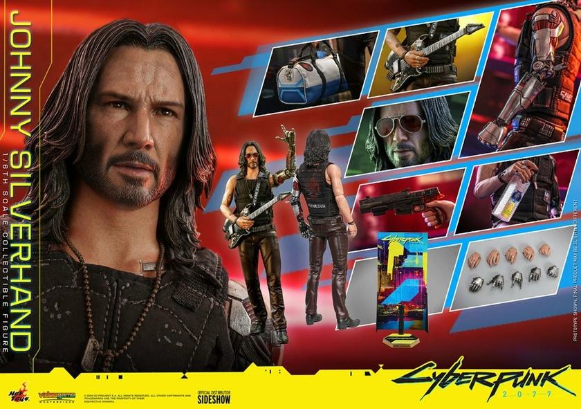 Figurine Cyberpunk 2077 Video Game Masterpiece Johnny Silverhand 31cm 1001 Figurines (25)