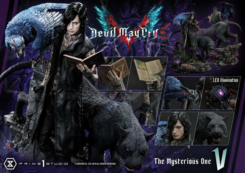 Statuette Devil May Cry 5 V 58cm 1001 Figurines (23)