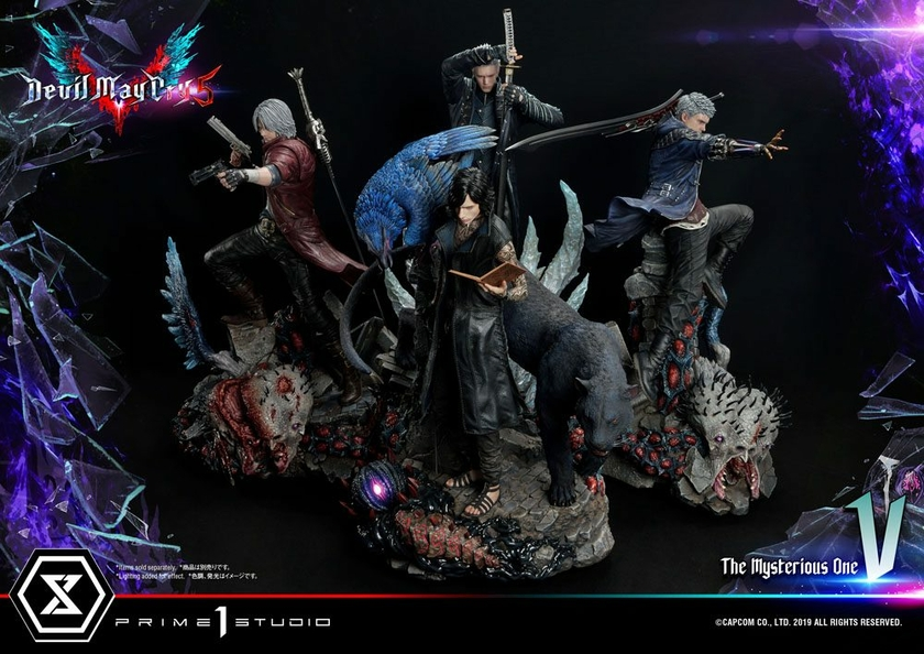 Statuette Devil May Cry 5 V 58cm 1001 Figurines (26)