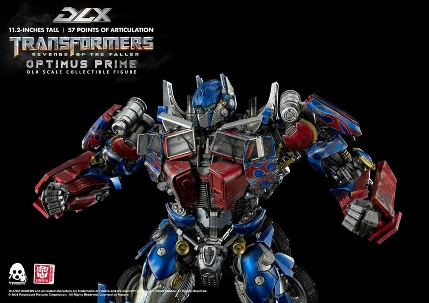 Figurine Transformers 2 La Revanche DLX Optimus Prime 28cm 1001 Figurines (5)