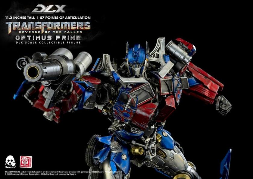 Figurine Transformers 2 La Revanche DLX Optimus Prime 28cm 1001 Figurines (8)