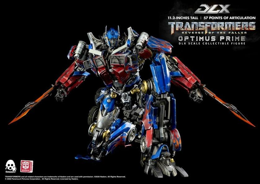 Figurine Transformers 2 La Revanche DLX Optimus Prime 28cm 1001 Figurines (17)