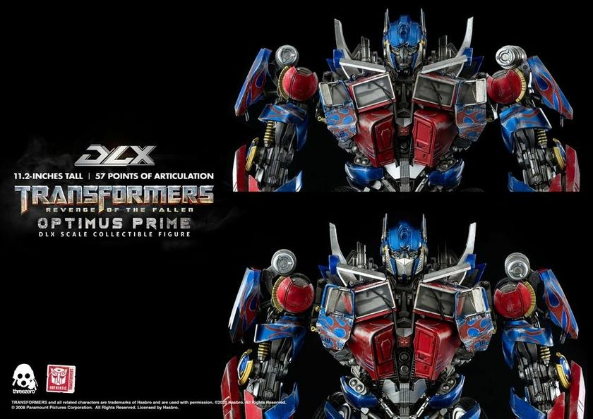 Figurine Transformers 2 La Revanche DLX Optimus Prime 28cm 1001 Figurines (18)