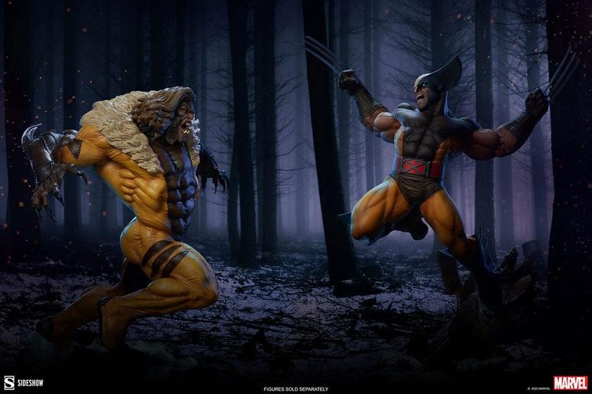 Statuette Marvel Premium Format Wolverine 52cm 1001 Figurines (4)