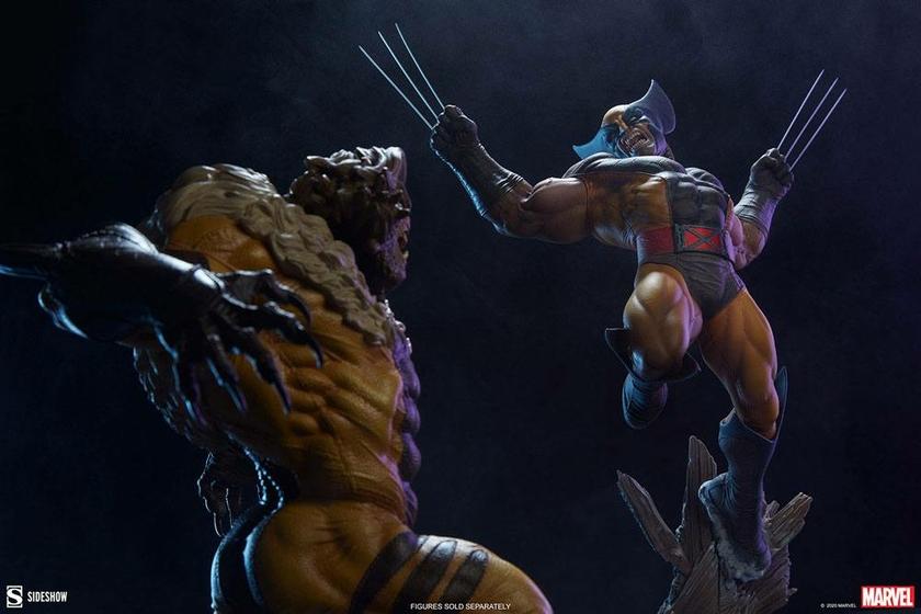 Statuette Marvel Premium Format Wolverine 52cm 1001 Figurines (14)