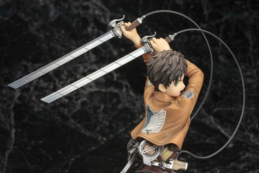 Statuette Attack on Titan ARTFX J Eren Yeager Renewal Package Ver. 26cm 1001 Figurines (19)