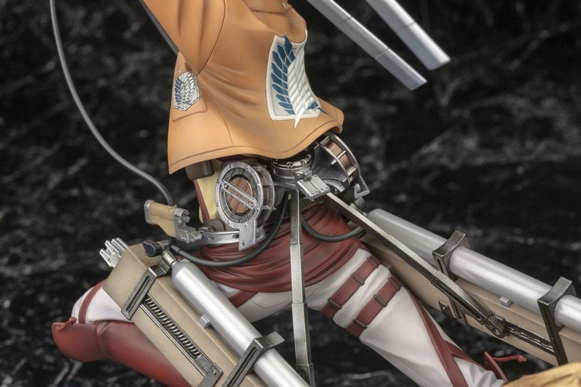 Statuette Attack on Titan ARTFX J Eren Yeager Renewal Package Ver. 26cm 1001 Figurines (21)