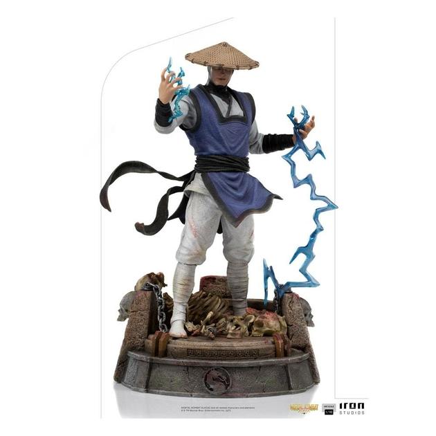 Statuette Mortal Kombat Art Scale Raiden 24cm 1001 Figurines (1)