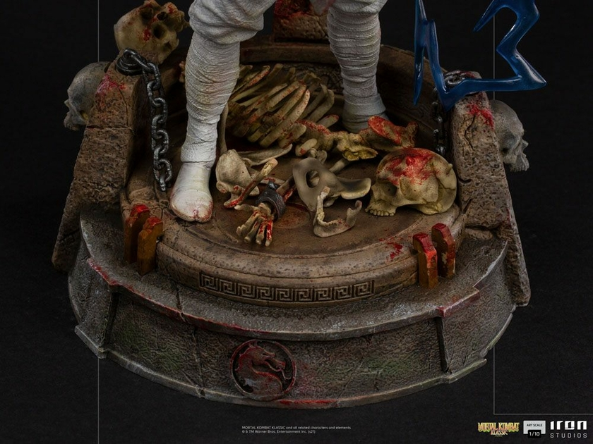 Statuette Mortal Kombat Art Scale Raiden 24cm 1001 Figurines (9)
