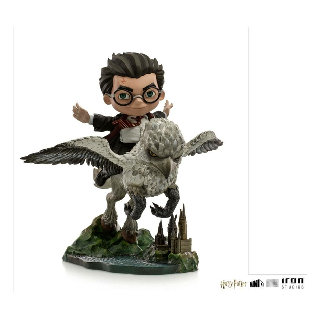 Figurine Harry Potter Mini Co. Illusion Harry Potter & Buckbeak 16cm 1001 Figurines (1)