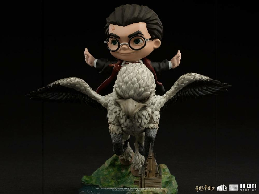 Figurine Harry Potter Mini Co. Illusion Harry Potter & Buckbeak 16cm 1001 Figurines (9)