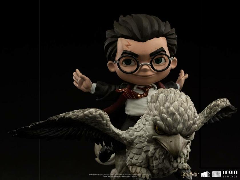 Figurine Harry Potter Mini Co. Illusion Harry Potter & Buckbeak 16cm 1001 Figurines (10)