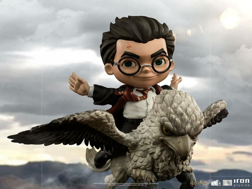Figurine Harry Potter Mini Co. Illusion Harry Potter & Buckbeak 16cm 1001 Figurines (12)