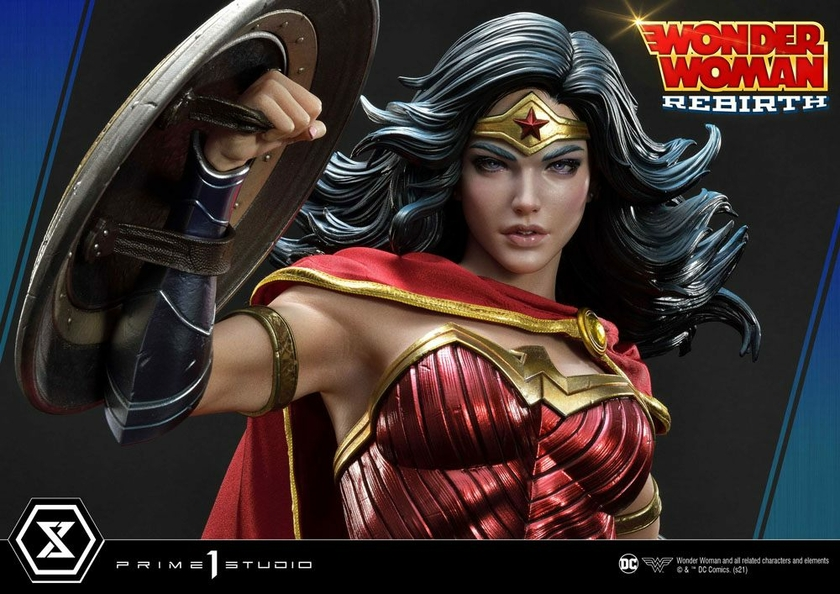 Statue DC Comics Wonder Woman Rebirth 75cm 1001 Figurines (9)