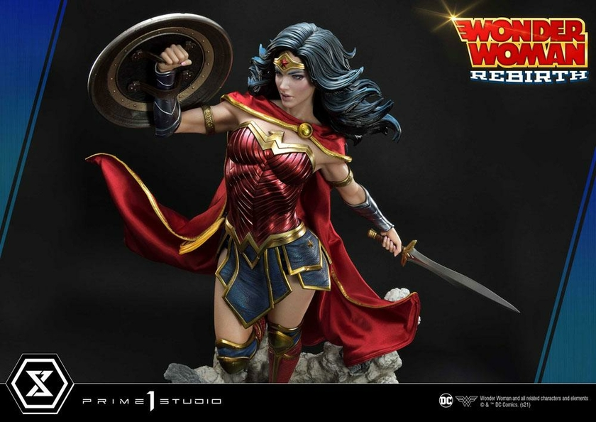 Statue DC Comics Wonder Woman Rebirth 75cm 1001 Figurines (20)