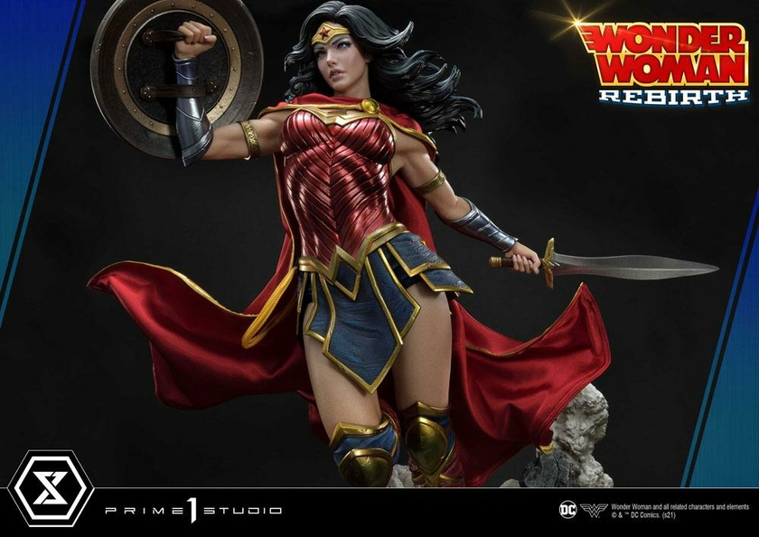 Statue DC Comics Wonder Woman Rebirth 75cm 1001 Figurines (21)