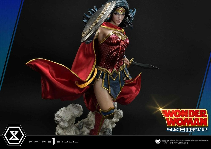 Statue DC Comics Wonder Woman Rebirth 75cm 1001 Figurines (19)