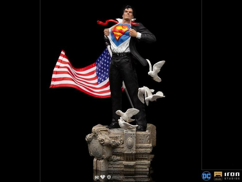 Statuette DC Comics Deluxe Art Scale Clark Kent 29cm 1001 Figurines (11)