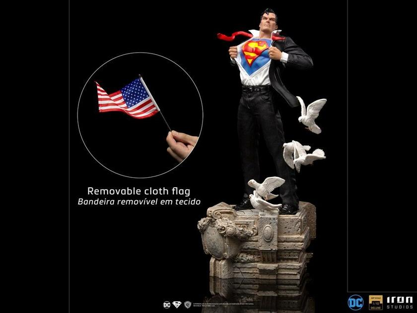 Statuette DC Comics Deluxe Art Scale Clark Kent 29cm 1001 Figurines (12)