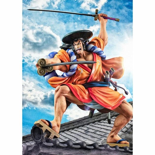 Statuette One Piece Portrait Of Pirates Warriors Alliance Oden Koduki 21cm 1001 Figurines (3)