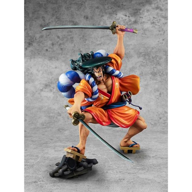 Statuette One Piece Portrait Of Pirates Warriors Alliance Oden Koduki 21cm 1001 Figurines (4)