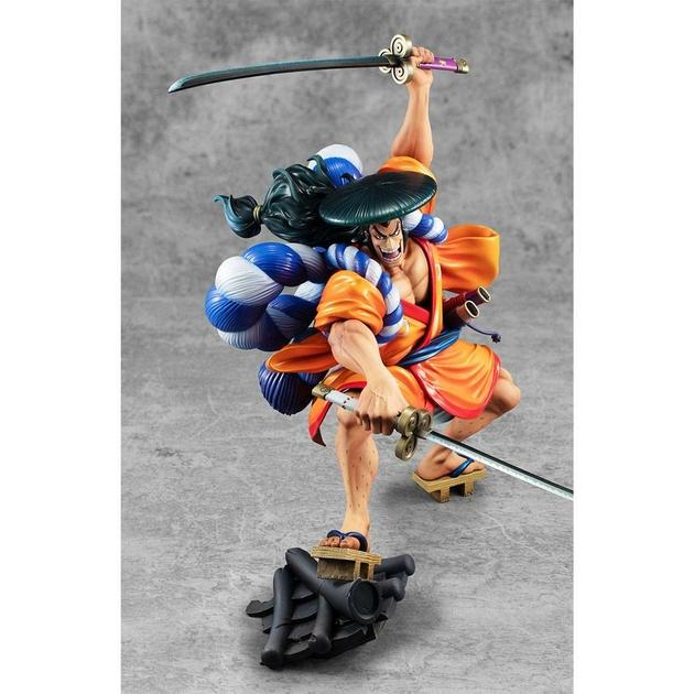 Statuette One Piece Portrait Of Pirates Warriors Alliance Oden Koduki 21cm 1001 Figurines (6)