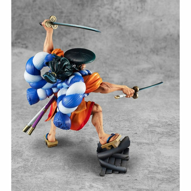 Statuette One Piece Portrait Of Pirates Warriors Alliance Oden Koduki 21cm 1001 Figurines (5)