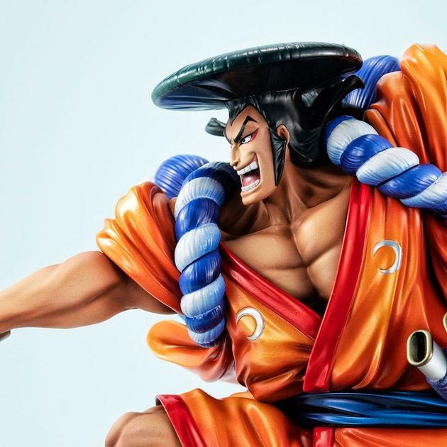 Statuette One Piece Portrait Of Pirates Warriors Alliance Oden Koduki 21cm 1001 Figurines (8)