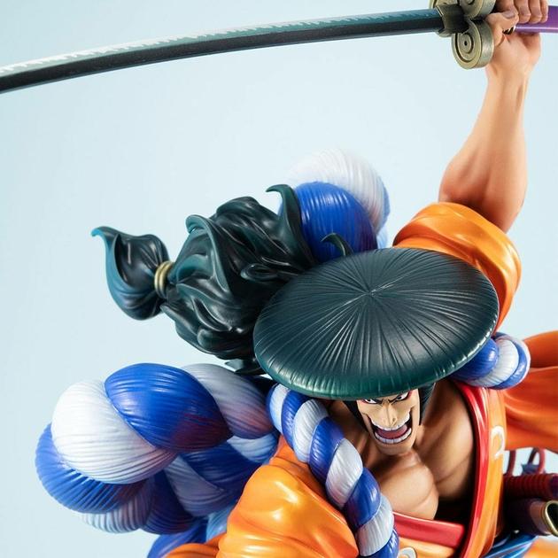 Statuette One Piece Portrait Of Pirates Warriors Alliance Oden Koduki 21cm 1001 Figurines (9)