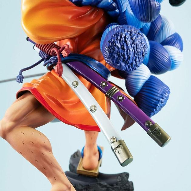 Statuette One Piece Portrait Of Pirates Warriors Alliance Oden Koduki 21cm 1001 Figurines (10)