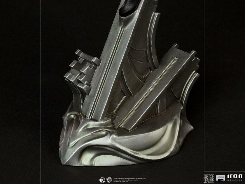 Statuette Zack Snyders Justice League Art Scale Superman Black Suit 30cm 1001 Figurines  (9)