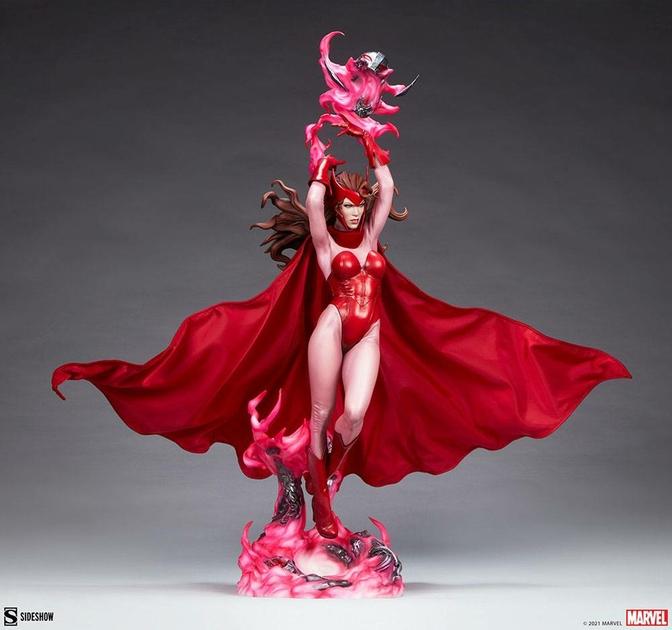 Statue Marvel Premium Format Scarlet Witch 74cm 1001 Figurines (7)