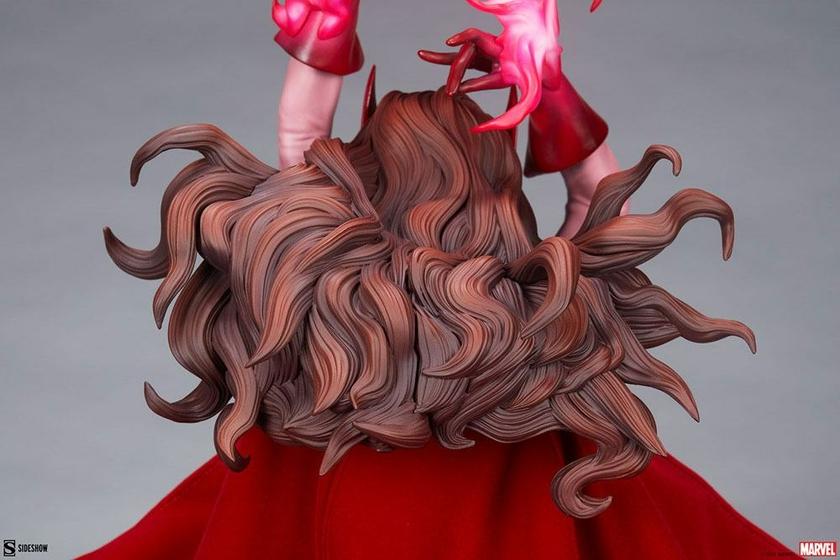 Statue Marvel Premium Format Scarlet Witch 74cm 1001 Figurines (12)