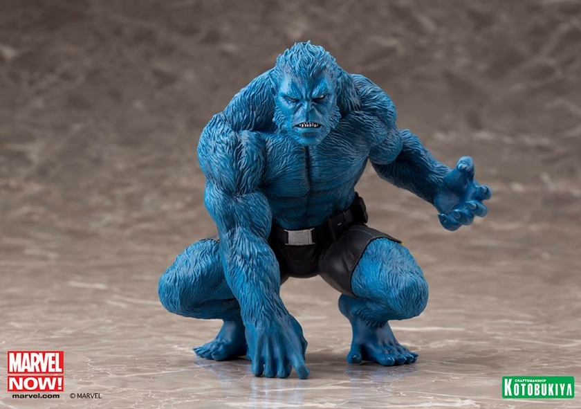 Statuette Marvel Now! X-Men ARTFX+ Beast 13cm 1001 Figurines