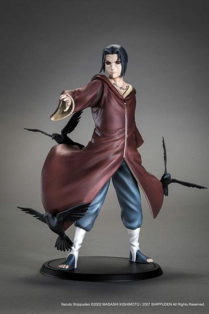 Statuette Naruto Shippuden Itachi Uchiwa Xtra Tsume 17cm 1001 Figurines 2