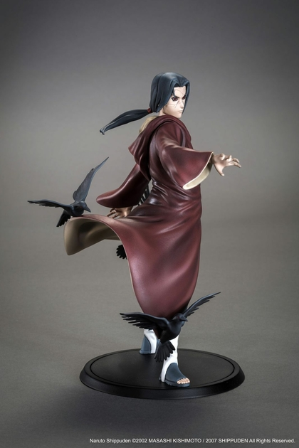 Statuette Naruto Shippuden Itachi Uchiwa Xtra Tsume 17cm 1001 Figurines 8