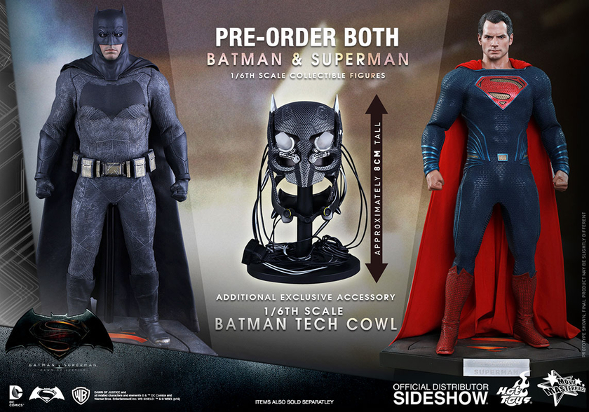 Batman vs Superman  Figurine Superman  Kotobukiya