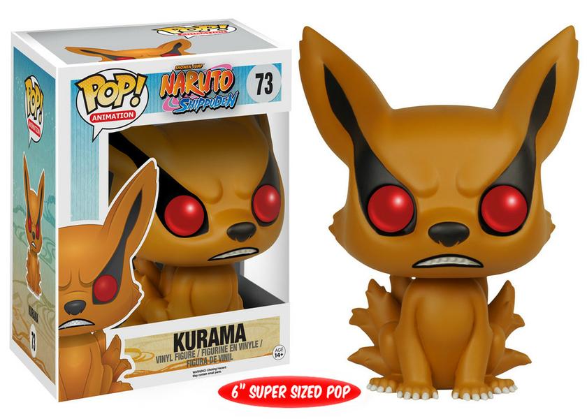 Figurine Naruto Shippuden Funko POP! Kurama 15cm 1001 Figurines