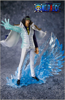 Statuette One Piece Figuarts Zero The Three Admirals Kuzan Aokiji 20cm