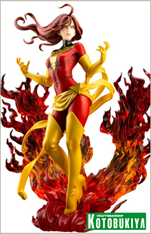 Statuette Marvel Bishoujo Dark Phoenix Rebirth 23cm